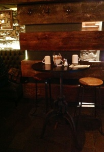 A cozy table for breakfast at Gasper's Tavern
